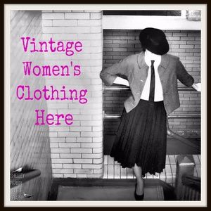 Vintage Clothing Starts Here!